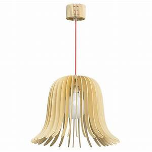 Suspension En Bois : suspension scandinave en bois blond sven millumine ~ Teatrodelosmanantiales.com Idées de Décoration