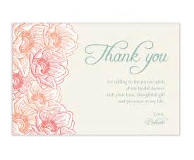 wedding shower thank you cards unavailable listing on etsy