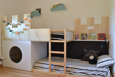 ikea deco chambre bebe 8 ways to customize ikea kura bed mommo design