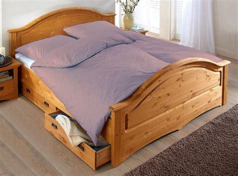 bett mit schubladen doppelbett bett mit schubladen kiefer massiv natur 140x200cm neu kaufen bei feldmann wohnen gmbh