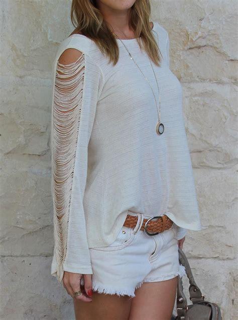 Give me some love please: Moda: Blusa com franja