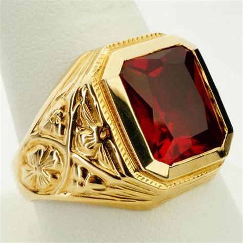 ruby ring mens ruby ring  sale