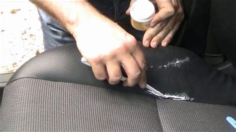 changer un siege de voiture comment réparer un siège auto en cuir déchiré
