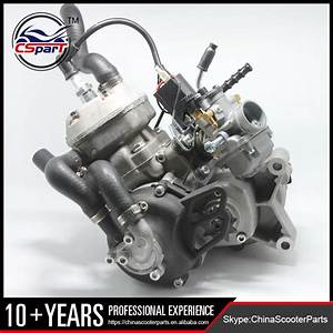 50cc 2 Stroke Water Cooled Engine For Ktm 50 Sx Pro Senior
