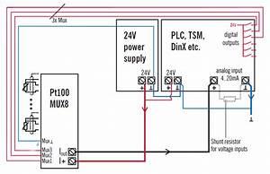 8 Input Rtd Transducer    Multiplexer Pt100mux8