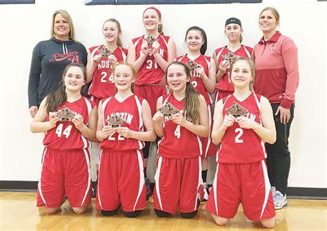 photo austin youth basketball seventh grade girls finish big