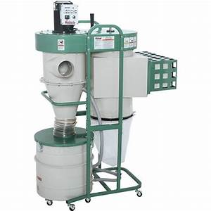 1-1/2 HP Dual-Filtration HEPA Cyclone Dust Collector ...