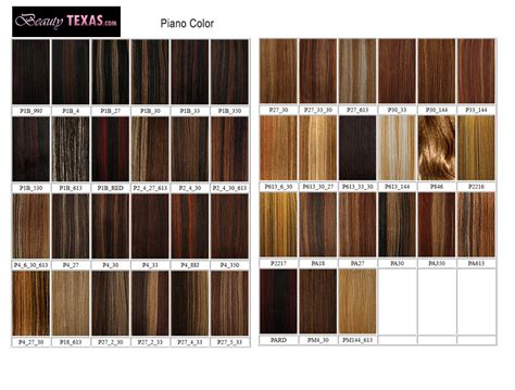 braiding hair color chart human blend hair wig sale milkyway outre remy hair