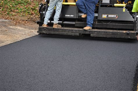 Maryland MD Warm Mix Asphalt Paving Company Baltimore
