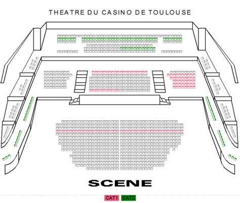 plan salle casino barriere toulouse casino th 233 226 tre barri 232 re toulouse