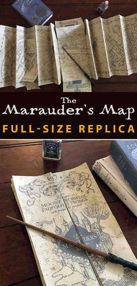 harry potter bastelideen marauder s map size replica props harry potter characters harry potter