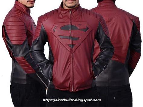 jaket kulit superhero images  pinterest