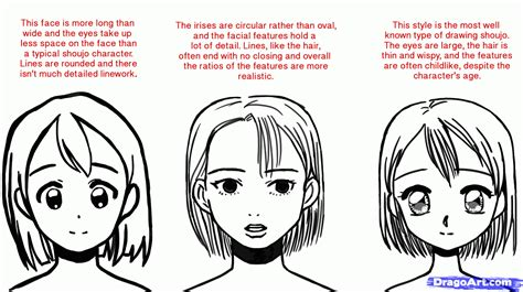 How To Draw Shojo, Draw Shoujo Anime, Step By Step, Anime