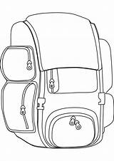 Backpack Coloring Pages Camping Colouring Backpacking Know Theme Printable Flannel Boards Storytime Activities Around Dora Lessons Getting sketch template