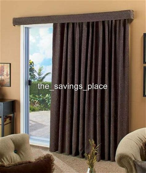 140 quot contemporary textured woven patio door window curtain
