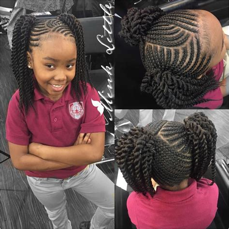 Lil Braiding Hairstyles by Pin By Howlett On Children Hairstyle In 2019