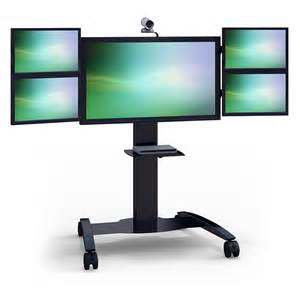 Cheap Lcd Tv Stands by Computer Monitor Floor Stand Www Imgkid Com The Image