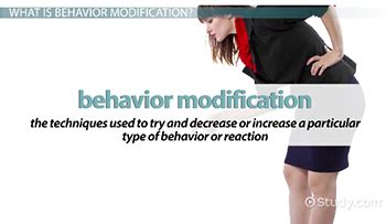 Modification Techniques Definition by What Is Behavior Modification Definition Techniques