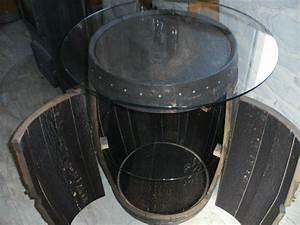 Fass Als Tisch : 170l whiskyfass tisch bar bourbon h he 75cm d 60cm eichenfassbar eichenfass holzfass ~ Sanjose-hotels-ca.com Haus und Dekorationen