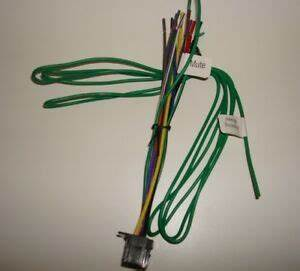 Pioneer Radio Dvd Wire Harness Avh P3200dvd P3200bt