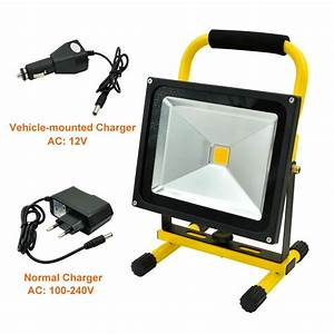 Mengsled mengs? w portable led rechargeable flood
