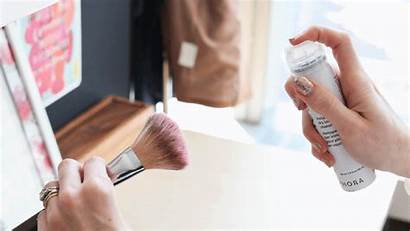 Makeup Brush Shampoo Dry Glamour Clean Brushes