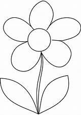 Coloring Pages Daisy Flower Printable Template Daisies Simple Templates Drawing Sheets Flowers Preschool Adult Pattern Easy Kindergarten Painting Quilt Colouring sketch template