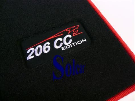 tapis auto personnalis 201 peugeot sport edition tapis voiture peugeot 206cc sport edition