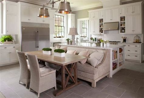 Beautiful practical 100% hand made bay window, with metal hinges and storage space, a/c ventilation. Functional Kitchen Islands With Built In Seating You Need ...