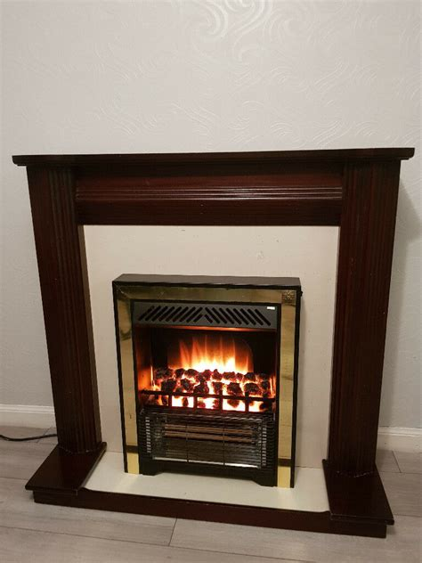 free standing electric fireplace in silverknowes