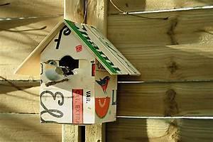 Recyclage Petite Cagette : cabane pour les oiseaux esprit cabane idees creatives et ecologiques ~ Nature-et-papiers.com Idées de Décoration