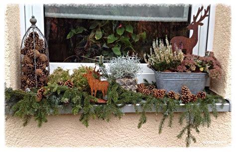 Fensterdeko Weihnachten Aussen by Tonkabohne Deko Und Seltsame Ger 252 Che