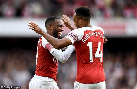 REDKNAPP: Aubameyang and Lacazette must start together for ...