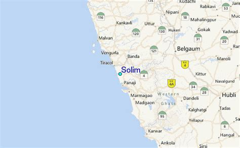 Solim Tide Station Location Guide