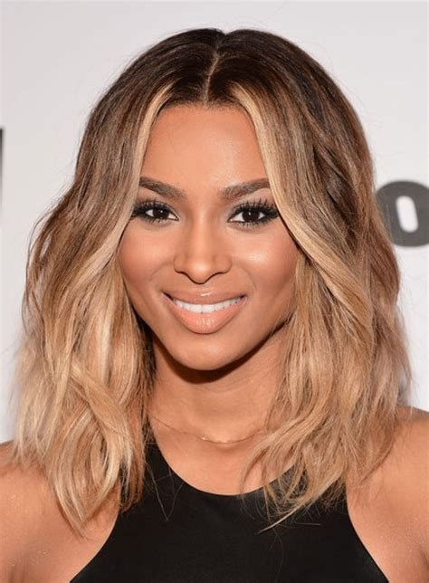 25+ Medium Ombre Haircuts Ideas  Elle Hairstyles