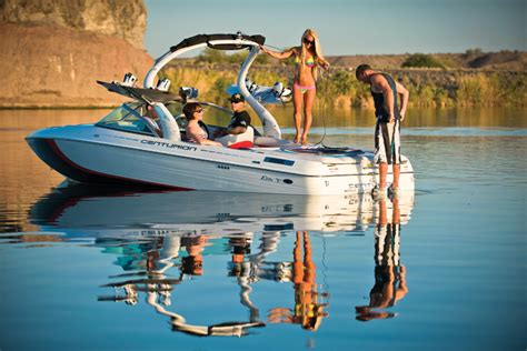 centurion elite   wakeboard  water ski   boatscom
