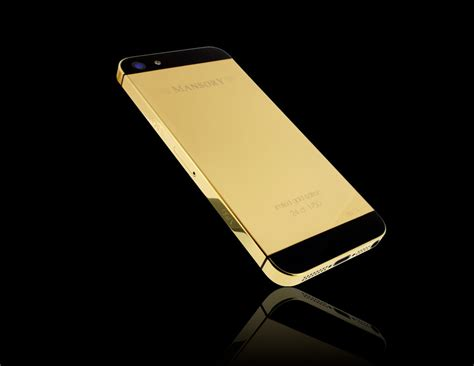 iphone 5 gold gold iphone 5 by mansory unveiled at baselworld