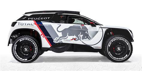 peugeot  dkr twin turbo rear drive suv revealed