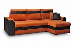 Sofa Mit Ottomane Und Schlaffunktion : orange schlafsofas und weitere betten g nstig online kaufen bei m bel garten ~ Eleganceandgraceweddings.com Haus und Dekorationen