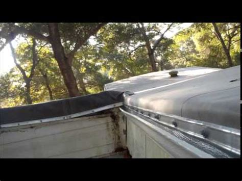 mobile home roof repair mobile home roof repair 28461 youtube