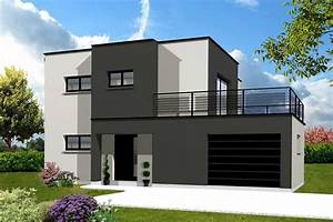 Pin, Em, Modern, House