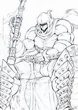 Sketch Executioner Deviantart Doctorzexxck Drawings Anime sketch template