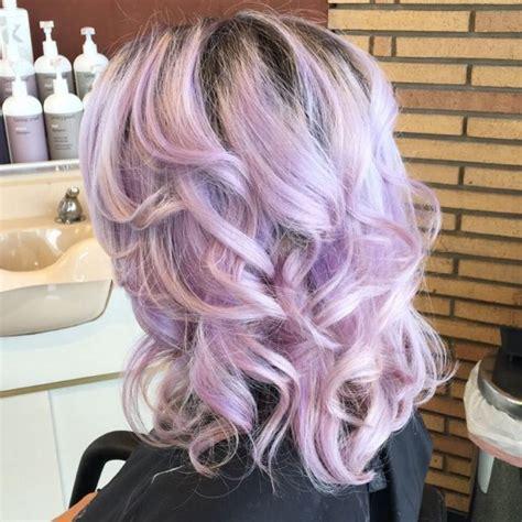 light purple hair colors  haircuts hairstyles