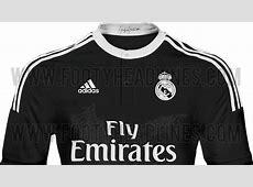 Real Madrid's 20142015 Third Kit Leaked Managing Madrid