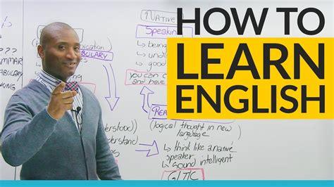 steps  learning english    start youtube