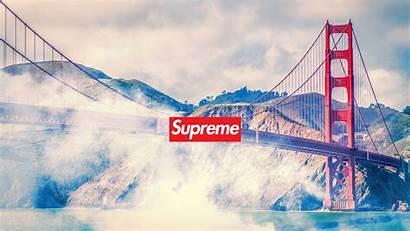 Supreme Desktop Pc Wallpaperxyz