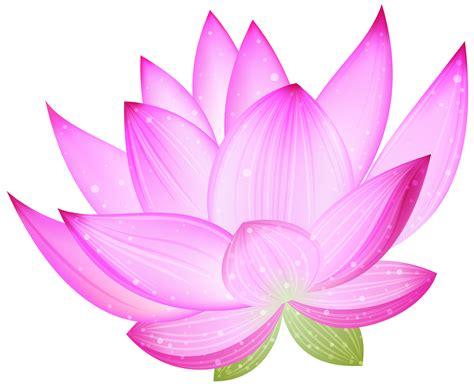 Large Pink Lotus Png Clipart
