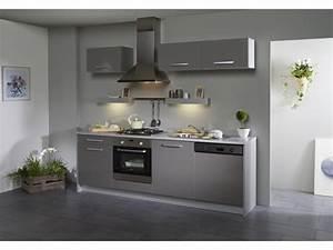 carrelage cuisine gris brillant With exceptional cuisine mur rouge meuble blanc 15 deco salon miroir