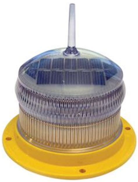 solar powered led airfield lights