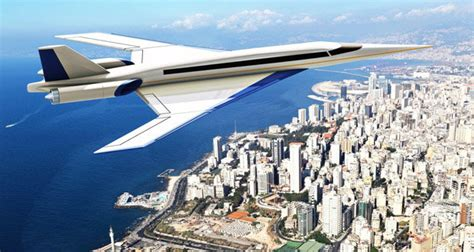 Son Of Concorde Supersonic Jet First Test Flight Hailed